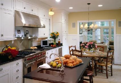 A High End Kitchen In Washington Dc